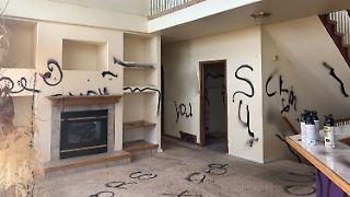 Das Hausinnere offenbart den ganzen Horror: Vandalismus, Zerstörung, Tierexkremente und bestialischer Gestank.