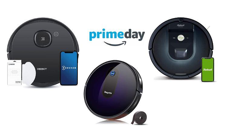 Auch auf Staubsaugerroboter senkt Amazon am Prime Day die Preise – welche Schnäppchen winken hier?