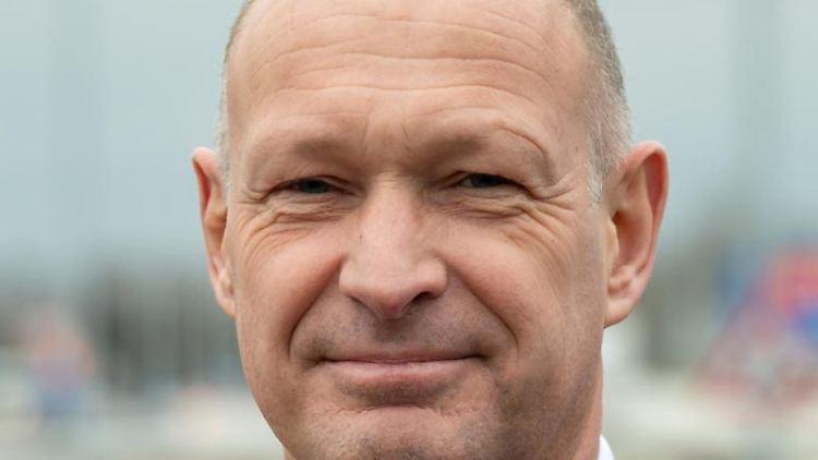 Jost Lammers, Vorstandsvorsitzender Flughafen München GmbH. Foto: Peter Kneffel/dpa/Archivbild
