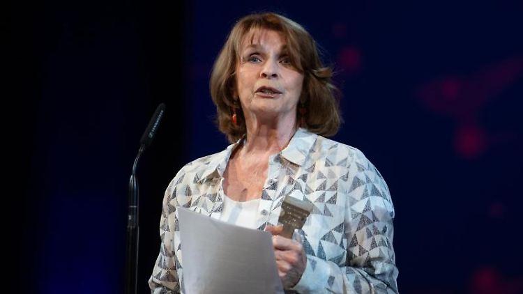 Schauspielerin Senta Berger bei der Verleihung des Friedenspreises des Deutschen Films