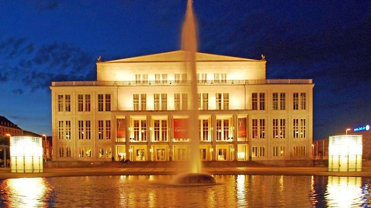 Opernhaus Leipzig. Foto: Andreas Schmidt/Leipzig Tourismus und Marketing GmbH/obs