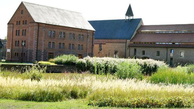 Blick auf das Zisterzienserinnenkloster St. Marien in Helfta. Foto: Waltraud Grubitzsch/dpa-zentralbild/dpa/Archivbild