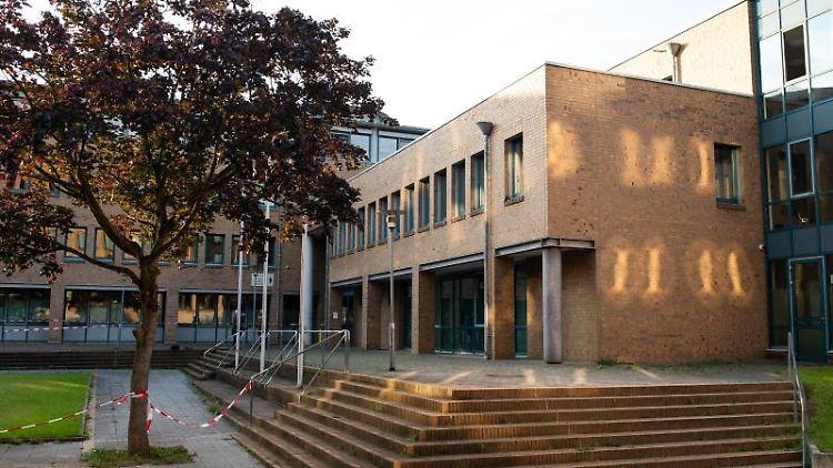 Blick auf das Landgericht in Göttingen. Foto: Swen Pförtner/dpa/Pool/dpa/Archiv