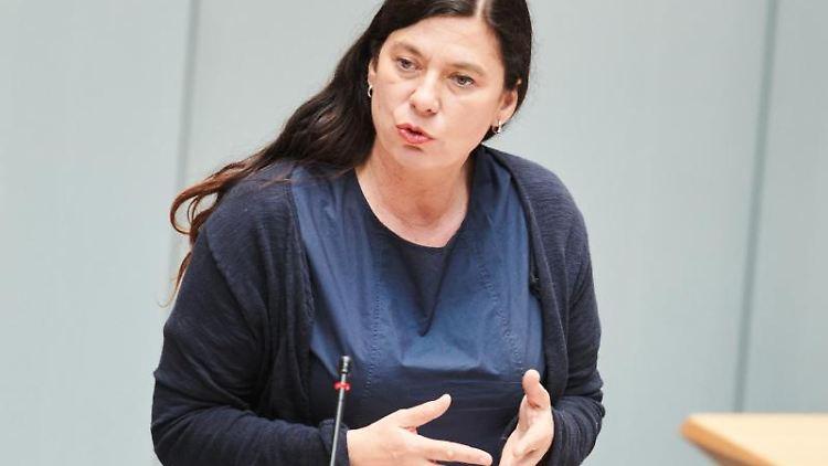Berlins Bildungssenatorin Sandra Scheeres (SPD). Foto: Annette Riedl/dpa/Archivbild