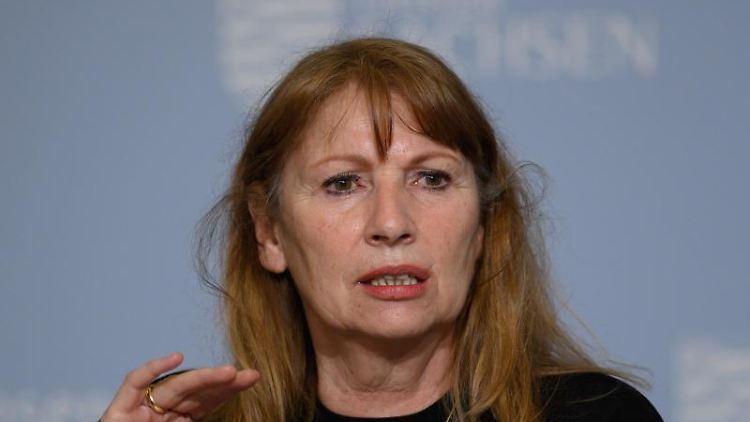 Petra Köpping (SPD) spricht. Foto: Robert Michael/dpa-Zentralbild/dpa/Archivbild