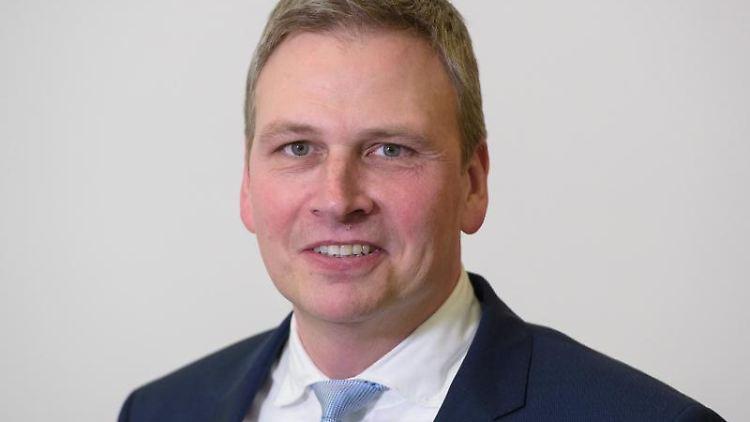 Peter Strobel (CDU). Foto: Oliver Dietze/dpa/Archivbild