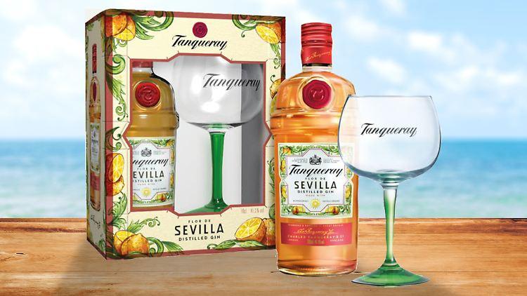 Exklusiv bei ntv: Der Tanqueray Flor de Sevilla Gin mit Rabatt.