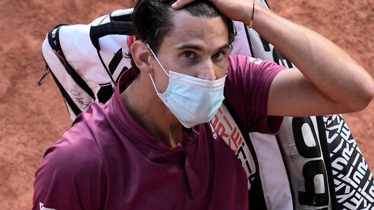 Tennisspieler Dominic Thiem. Foto: Christophe Ena/AP/dpa/Archiv