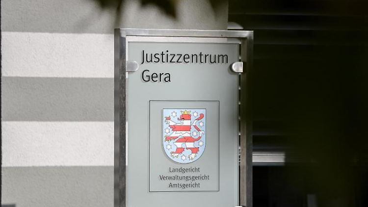 Das Justizzentrum Gera mit dem Landgericht. Foto: Jan Woitas/dpa-Zentralbild/dpa/Archiv