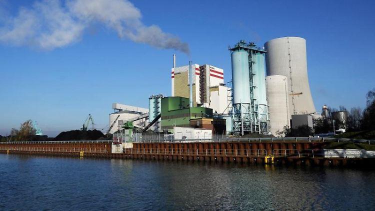 Das Trianel-Kraftwerk in Lünen. Foto: Marius Becker/dpa/Archivbild