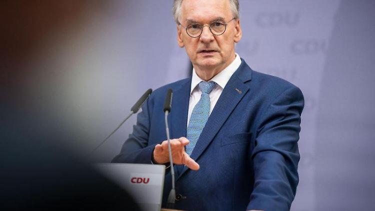 Reiner Haseloff (CDU), Ministerpräsident von Sachsen-Anhalt. Foto: Michael Kappeler/dpa