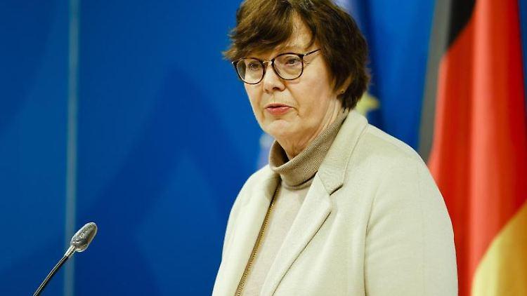 Sabine Sütterlin-Waack (CDU) spricht. Foto: Frank Molter/dpa/Archivbild
