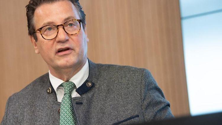 Peter Hauk (CDU), Minister für Ernährung, Ländlichen Raum und Verbraucherschutz. Foto: Sebastian Gollnow/dpa