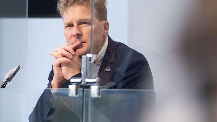 Holger Buschmann, Vorsitzender des NABUNiedersachsen. Foto: Peter Steffen/dpa