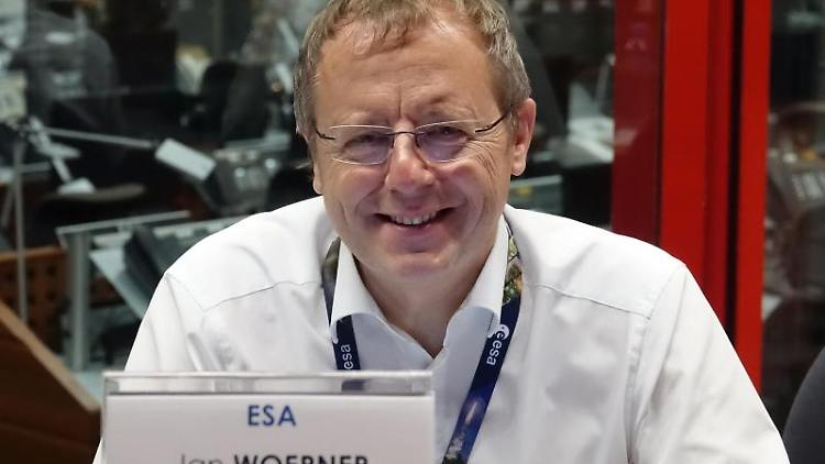 Der neue Raumfahrtkoordinator Jan Wörner. Foto: Janne Kieselbach/dpa/Archivbild