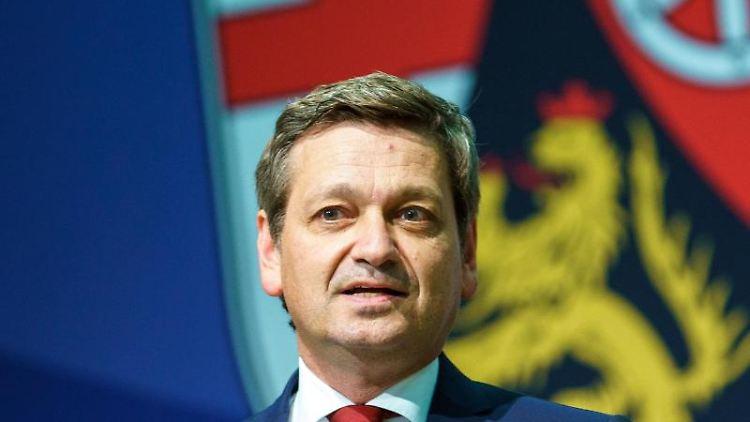 Christian Baldauf (CDU) spricht. Foto: Andreas Arnold/dpa/Archivbild