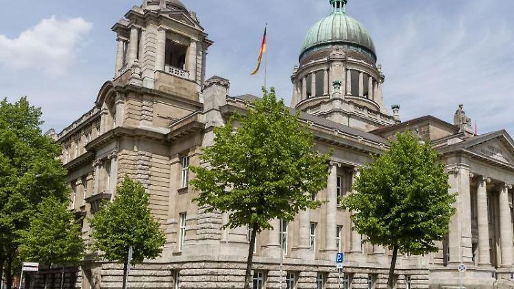 Blick auf das Gebäudes des Hanseatischen Oberlandesgerichts. Foto: Markus Scholz/dpa/Archivbild
