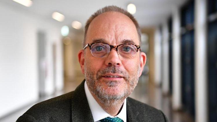 Michael Ranft, Staatssekretär für Soziales, Gesunheit und Integration in Brandenburg. Foto: Soeren Stache/dpa-Zentralbild/dpa/Archivbild