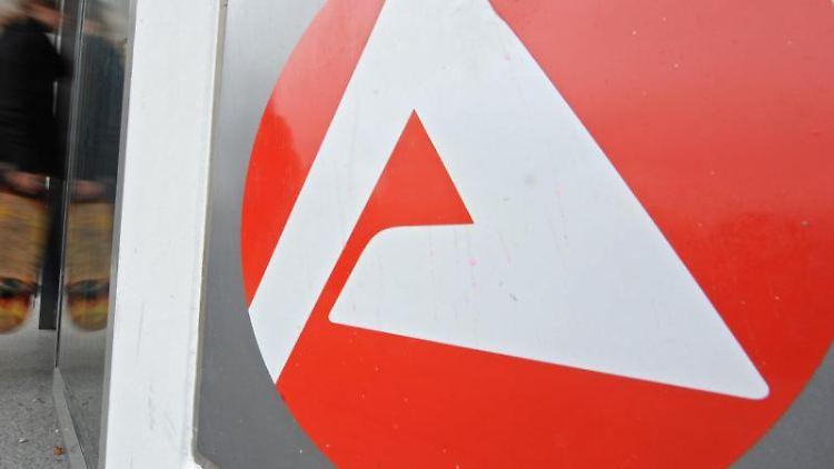 Das Logo der Bundesagentur für Arbeit. Foto: Patrick Seeger/dpa/Symbolbild