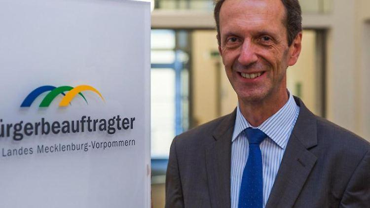 Matthias Crone, Bürgerbeauftragter in Mecklenburg-Vorpommern. Foto: Jens Büttner/dpa-Zentralbild/dpa/Archivbild