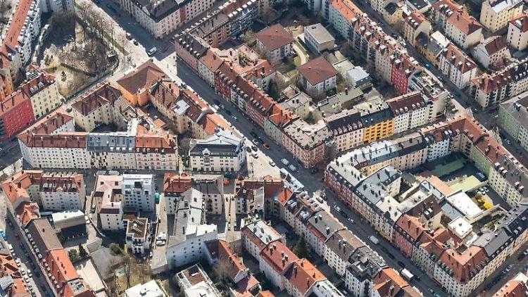 Die Innenstadt von München. Foto: Sina Schuldt/dpa/Archivbild