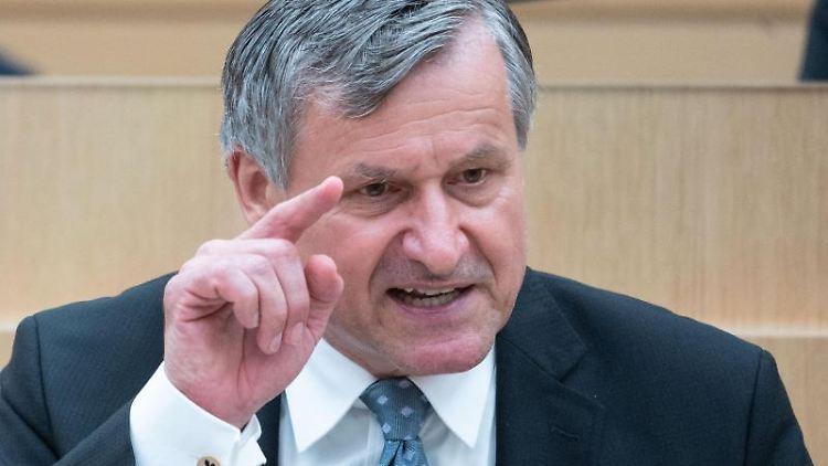 Hans-Ulrich Rülke (FDP), Vorsitzender der FDP-Fraktion im Landtag von Baden-Württemberg. Foto: Marijan Murat/dpa/Archivbild