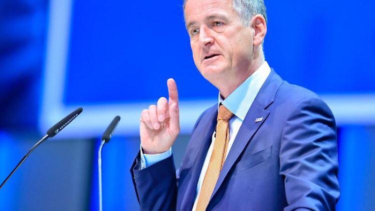 Frank Mastiaux, Vorstandsvorsitzender beim Energiekonzern EnBW. Foto: Uwe Anspach/dpa/Archivbild