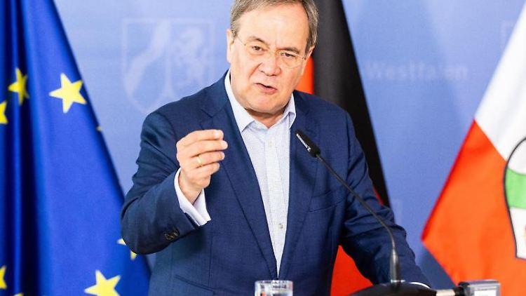 Armin Laschet (CDU), Union-Kanzlerkandidat und Ministerpräsident von Nordrhein-Westfalen. Foto: Marcel Kusch/dpa/Archivbild