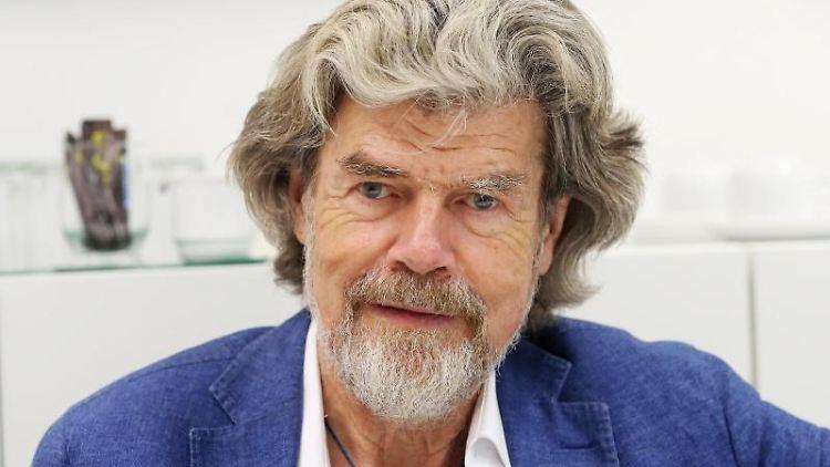 Der Südtiroler Bergsteiger Reinhold Messner. Foto: Roland Weihrauch/dpa/Archivbild