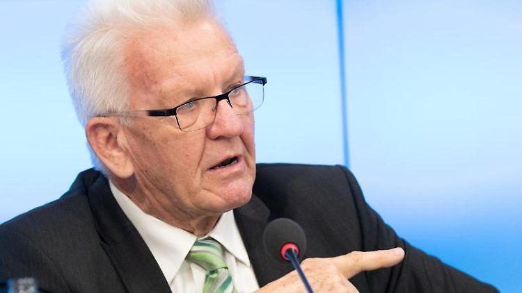Winfried Kretschmann (Bündnis 90/Die Grünen), Ministerpräsident von Baden-Württemberg. Foto: Bernd Weißbrod/dpa/Archivbild