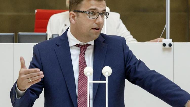 Erik Stohn (SPD), Fraktionsvorsitzender der SPDim Brandenburger Landtag. Foto: Carsten Koall/dpa/Archivbild