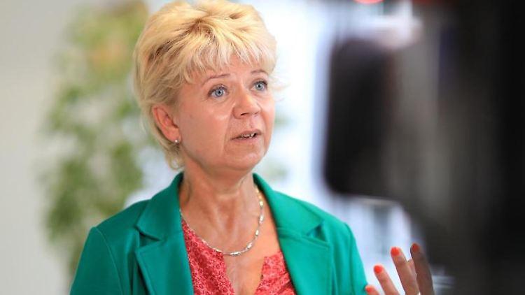 Cornelia Lüddemann, Fraktionsvorsitzende von Bündnis90/Die Grünen. Foto: Peter Gercke/dpa/Archivbild