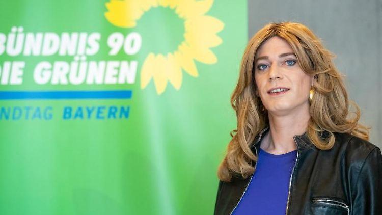 Die bayerische Grünen-Politikerin Tessa Ganserer. Foto: Daniel Karmann/dpa/archivbild