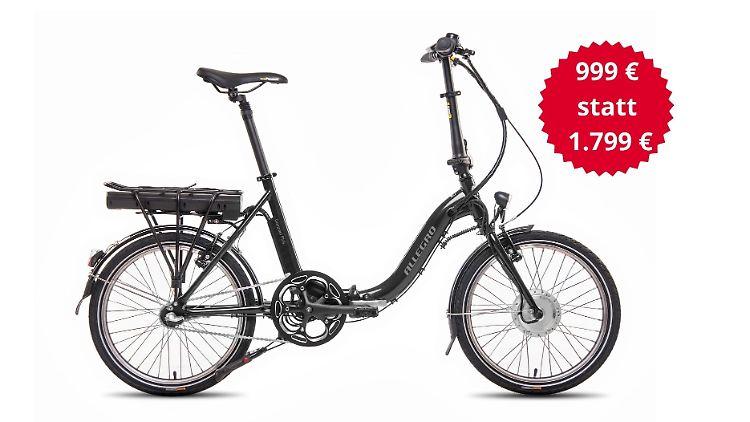 Das E-Bike Allegro Compact 3 Plus 374 ist aktuell mit sattem Rabatt erhältlich.