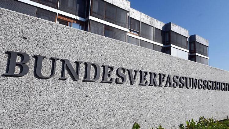 Außenaufnahme des Bundesverfassungsgericht. Foto: Uli Deck/dpa/Archiv