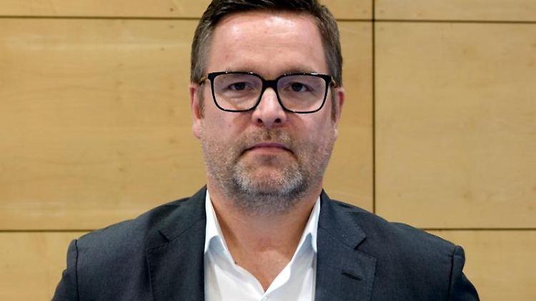 Der Präsident des Handball-Bundesligisten HSVHamburg: Marc Evermann. Foto: Regina Wank/dpa/Archivbild