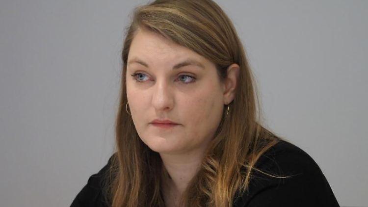 Isabelle Vandre (Die Linke). Foto: Soeren Stache/dpa-Zentralbild/ZB/Archivbild