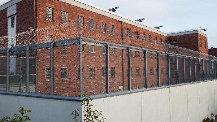 Blick auf die Justizvollzugsanstalt (JVA) Heimsheim. Foto: picture alliance / dpa/Archivbild