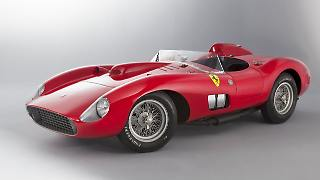 Der Ferrari 335 S Spider Scaglietti ziert als einer der teuersten Fahrzeuge überhaupt die Autosammlung von Lionel Messi.