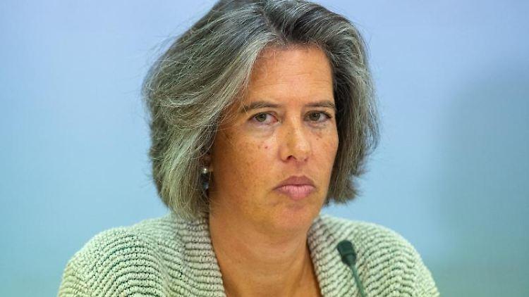 Tamara Zieschang, Ministerin für Inneres und Sport des Landes Sachsen-Anhalt. Foto: Klaus-Dietmar Gabbert/dpa-Zentralbild/dpa/Archivbild