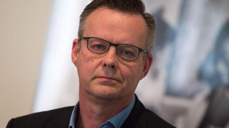 Der neue Geschäftsführer Roland Nachtigäller. Foto: Arno Burgi/dpa-Zentralbild/dpa