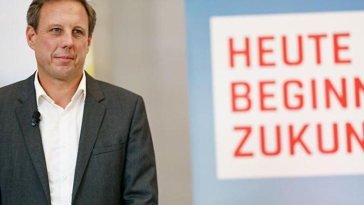 Thomas Losse-Müller (SPD), Spitzenkandidat der SPD in Schleswig-Holstein. Foto: Axel Heimken/dpa/Archivbild