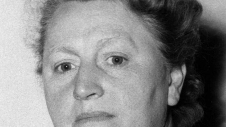 Elisabeth Selbert im Jahr 1953. Foto: dpa