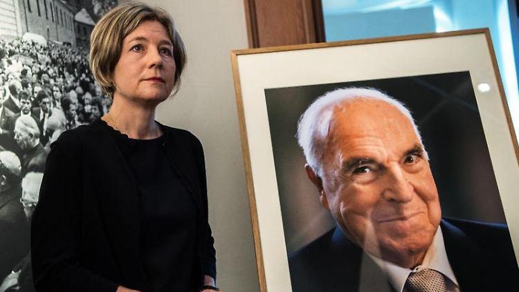 Maike Kohl-Richter, Witwe von Altbundeskanzler Helmut Kohl. Foto: Andreas Arnold/dpa/Archivbild
