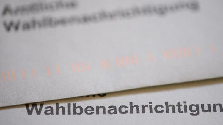 Ein Briefumschlag mit der Aufschrift