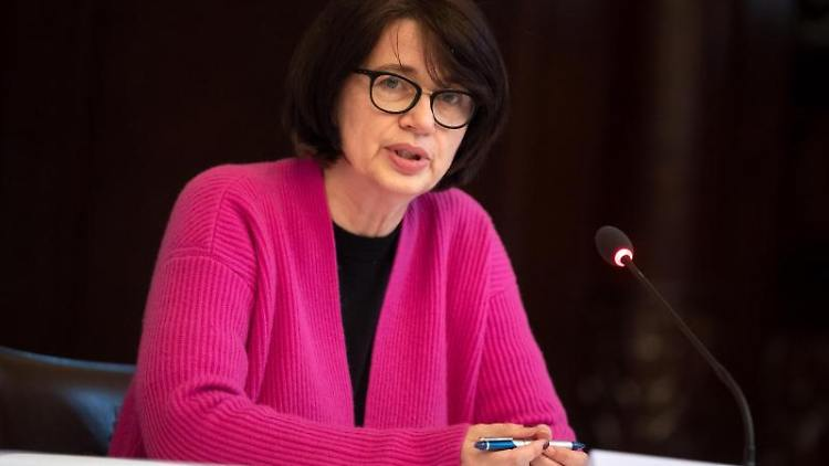 Claudia Bernhard (Linke), Senatorin für Gesundheit. Foto: Sina Schuldt/dpa/Archivbild