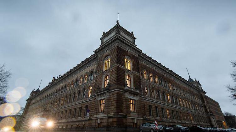 Blick auf das Landgericht Dresden. Foto: Robert Michael/dpa-Zentralbild/ZB