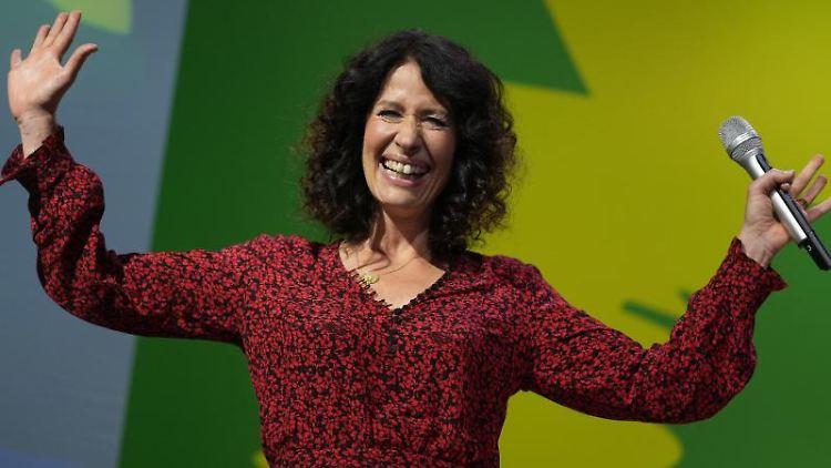 Bettina Jarasch (Die Grünen). Foto: Kay Nietfeld/dpa