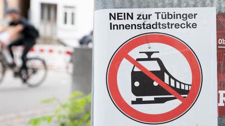 Am 26. September entschied sich eine Mehrheit der Tübinger gegen die Innenstadtstrecke. Foto: Bernd Weißbrod/dpa/Archivbild