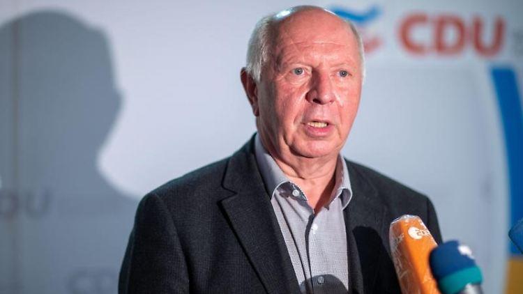 Eckhardt Rehberg, stellvertretender CDU-Parteivorsitzender in Mecklenburg-Vorpommern. Foto: Jens Büttner/dpa-Zentralbild/dpa